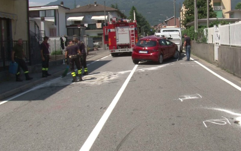 renco strada con incidente